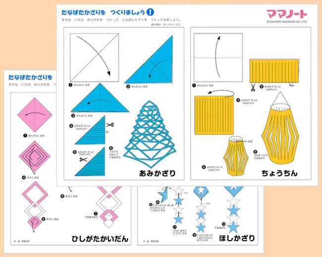 ハート 折り紙 七夕の折り紙 折り方 : mamanote.jp