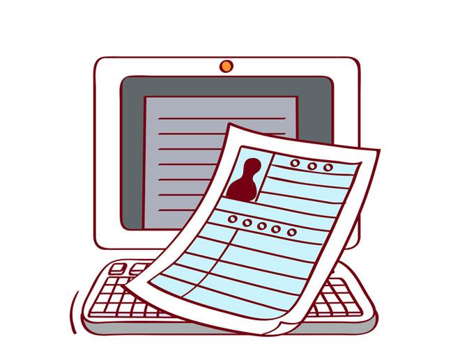 「職歴を書く イラスト」の画像検索結果