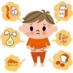 ☆食物アレルギーは、どんな症状が現れるの?