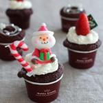 クリスマスのおやつに! チョコマフィンレシピ[12/9]