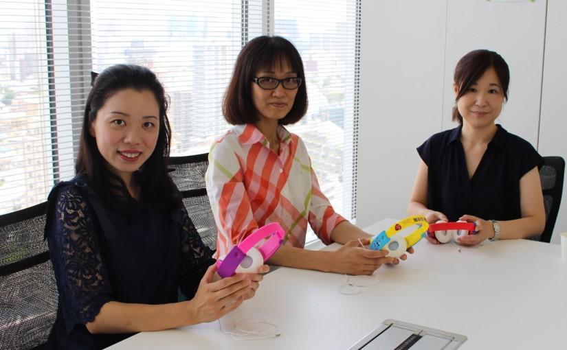 左から、M&Rさん(娘:小1)、よっちゃんさん(息子:小1)、daisotaさん(息子:小1と1歳) ※お名前はハンドルネーム